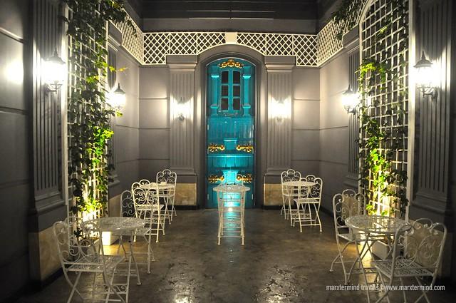 Park View Hotel Bandung Backyard