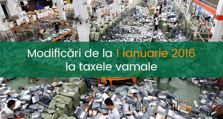 taxe vamale china