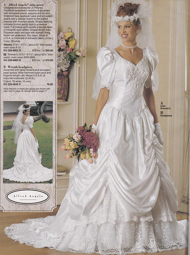 From A Mid 90 S Jc Penney Bridal Catalog A Very Pretty
