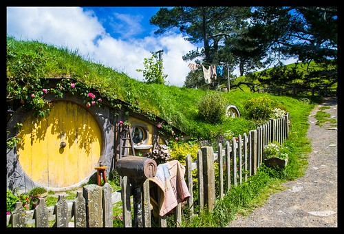 Hobbits live here