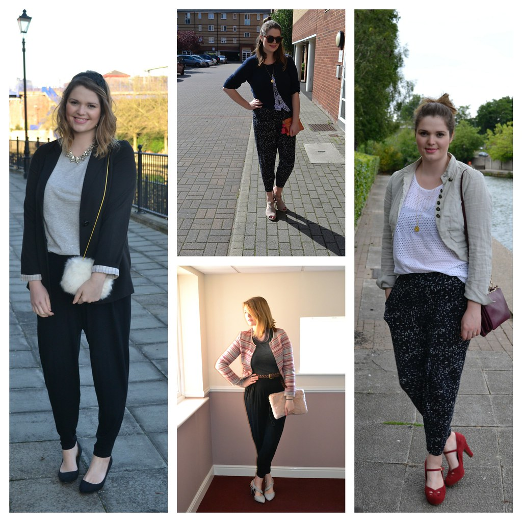 The Harem Trouser and the half tuck