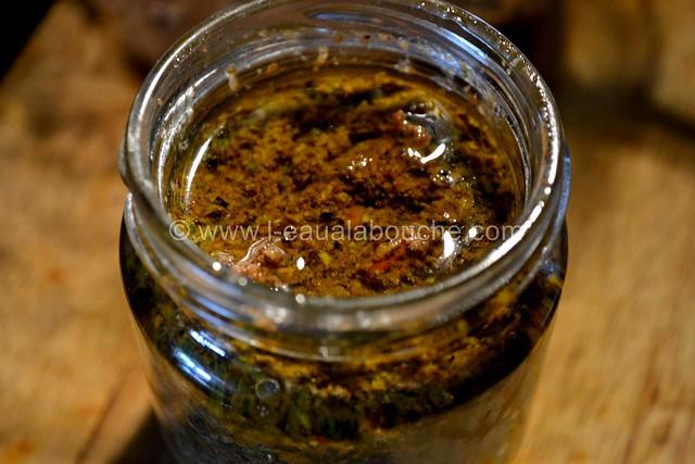 Pesto aux Olives © Ana Luthi Tous droits réservés 012