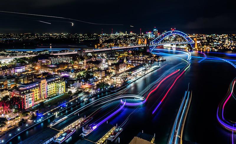 Vivid Sydney 2016_Sydney Harbour_CREDIT Destination NSW_KM-7512