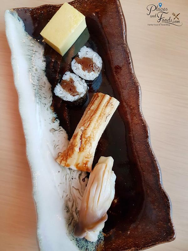 taka by sushi saito st regis kl sushi trio and dessert