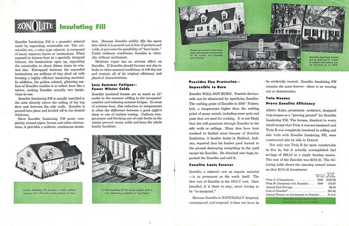 Zonolite Brochure A Pages 2 Amp 3 Asbestos Research