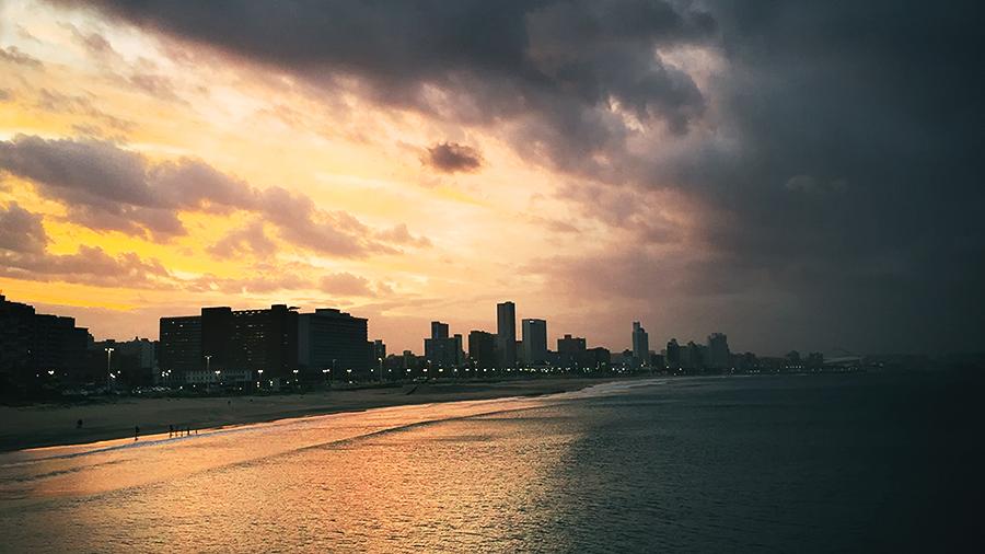 Durban at dusk