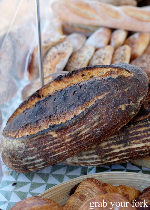 Sourdough bread by Brickfields at the Canterbury Foodies and Farmers Market, Sydney