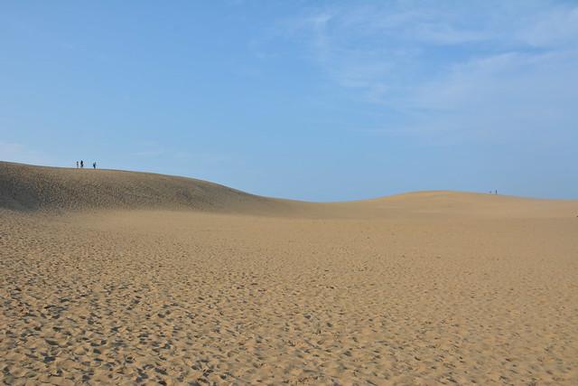 砂と青空しかない世界