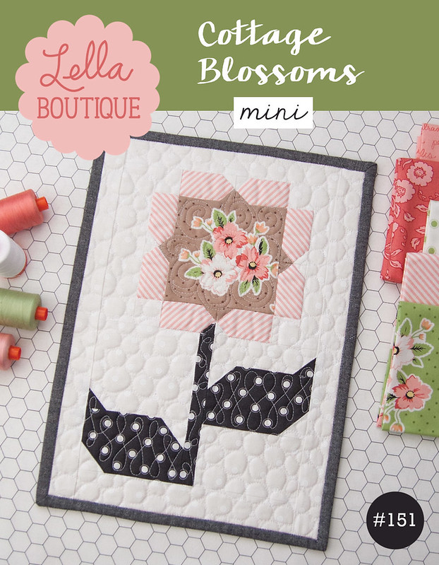 LB151 Cottage Blossoms Mini cover