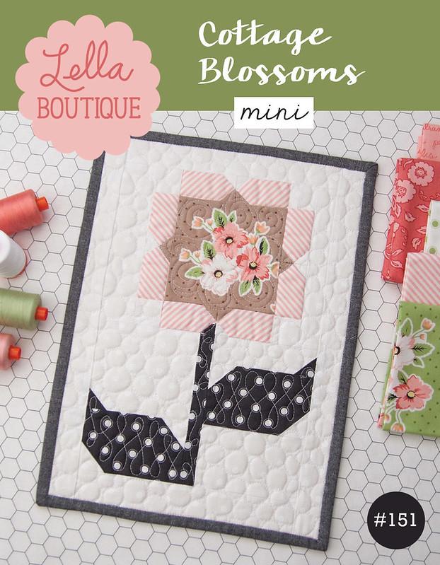 LB151 Cottage Blossoms Mini cover