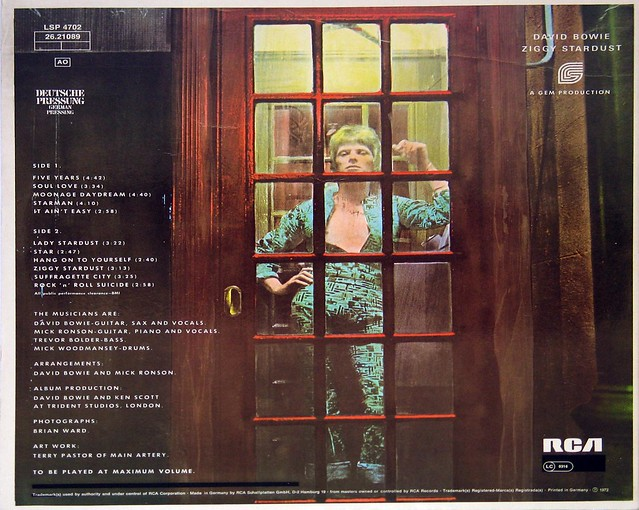 David Bowie Rise and Fall of Ziggy Stardust and the Spiders from Mars FOC