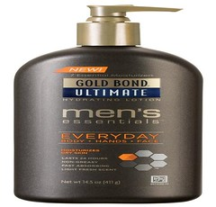 Body Lotion for men - Gold Bond Ultimate Gold Men's Essentials Hydrating Lotion