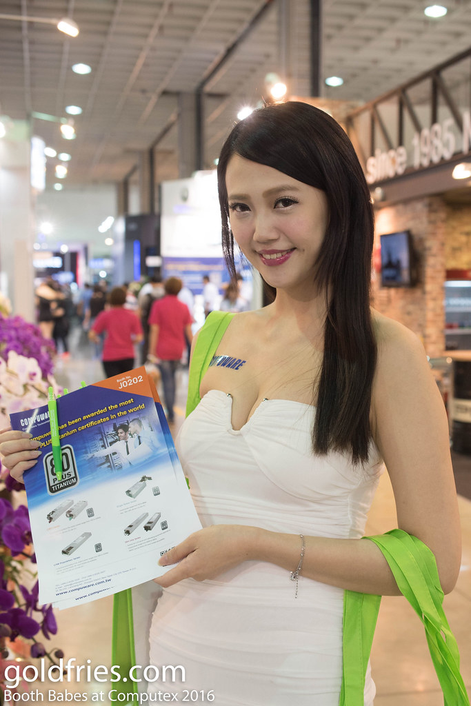 Booth Babes at Computex 2016
