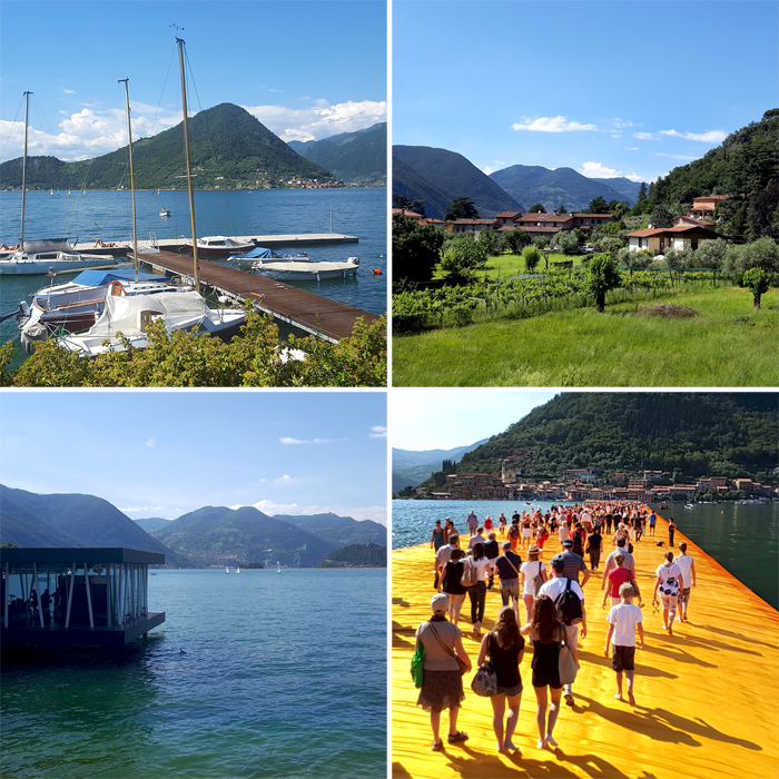 The Floating Piers, Iseo Lake