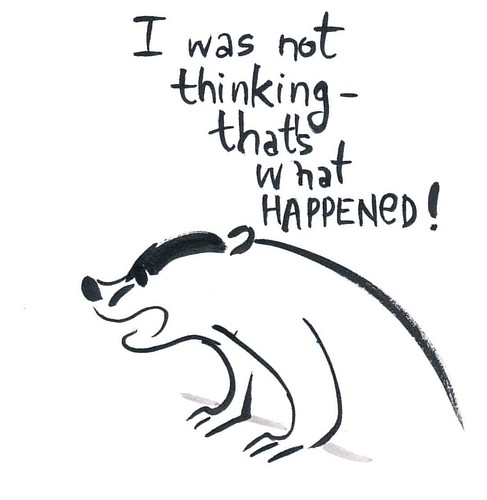 Some days are hard for badger. #badger #badgerlog #parenting #thinking