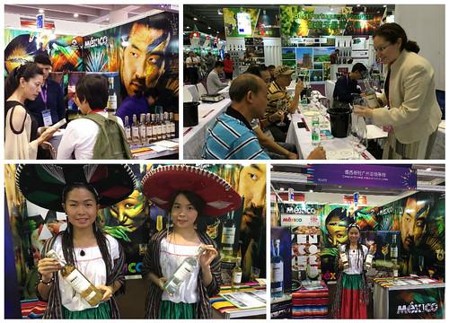 Vistosa participación de México en la Feria Internacional de Vinos y Licores de Guangzhou (Interwine) 2016