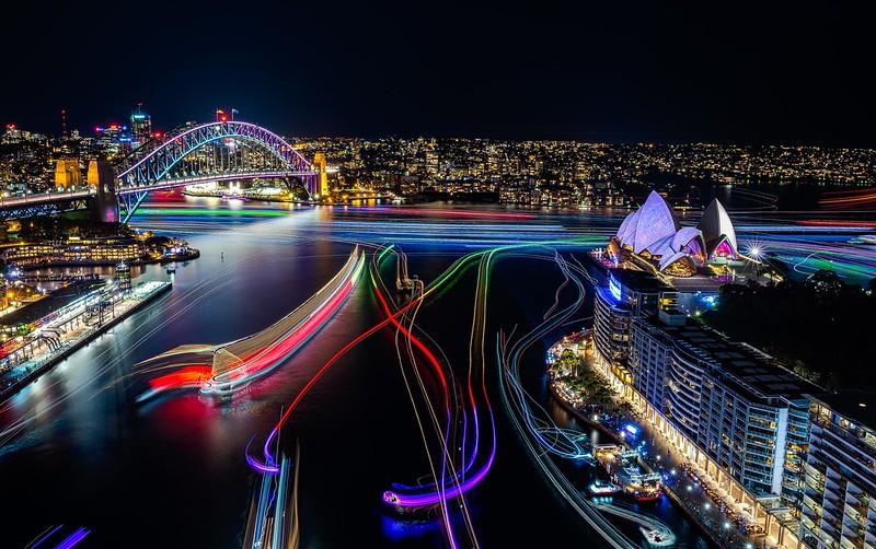 Vivid Sydney 2016_Sydney Harbour_CREDIT Destiantion NSW_KM-5698-