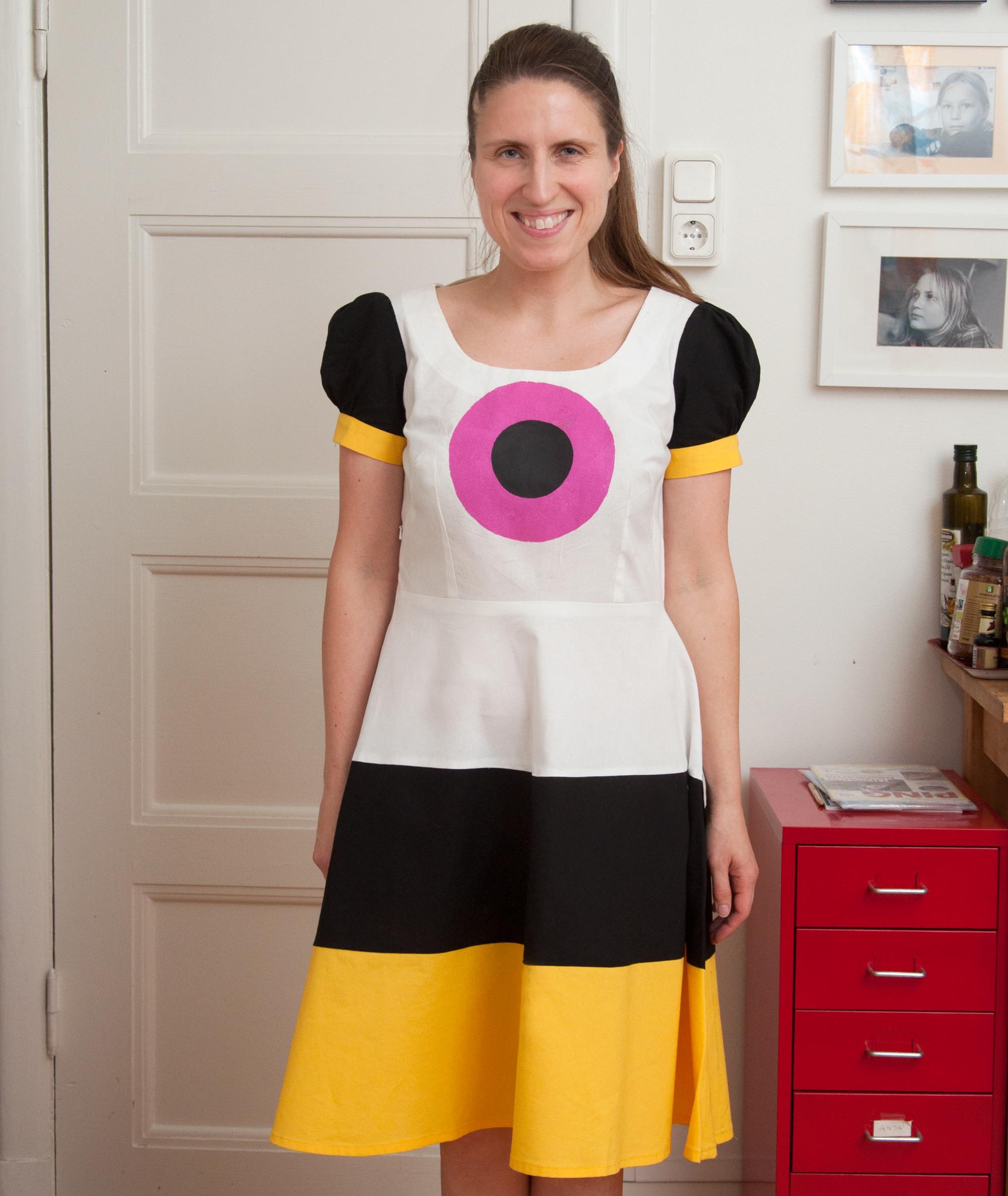 Basset All Sorts dress