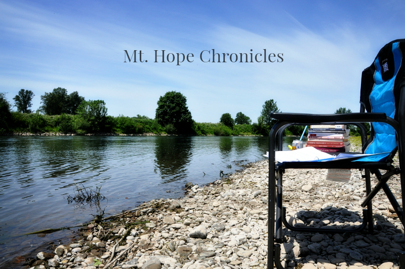 Soaking Up Sun and Inspiration @ Mt. Hope Chronicles