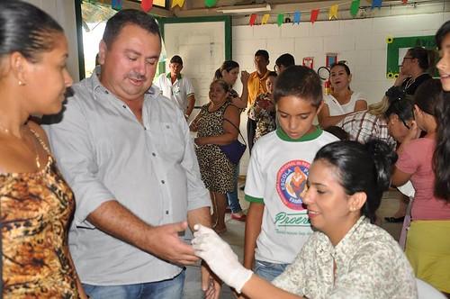 Secretaria de Saúde e Prefeitura municipal promove Ação de Saúde em Santo Antônio