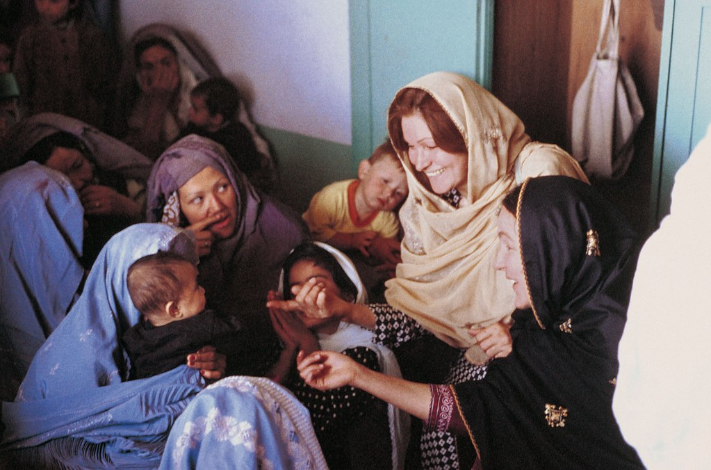 Australian volunteer Tanya McQueen worked as a Rural Women's Program Adviser in Afghanistan, 2003. Photo: Tanya McQueen, AVI / AusAID
