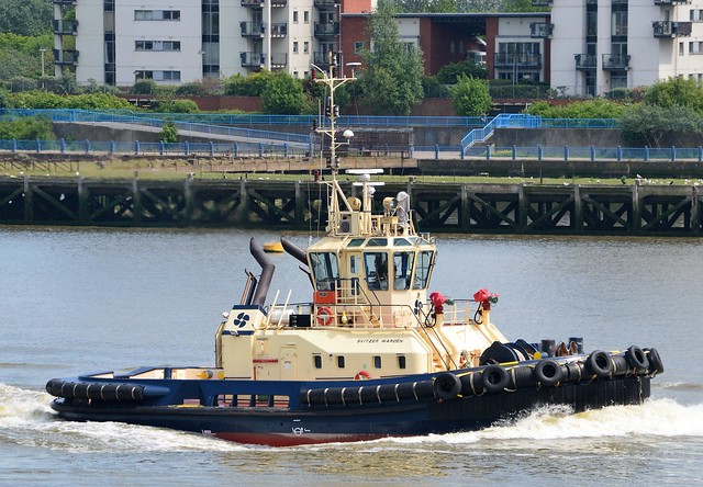 Svitzer Warden (5) @ Gallions Reach 26-05-16