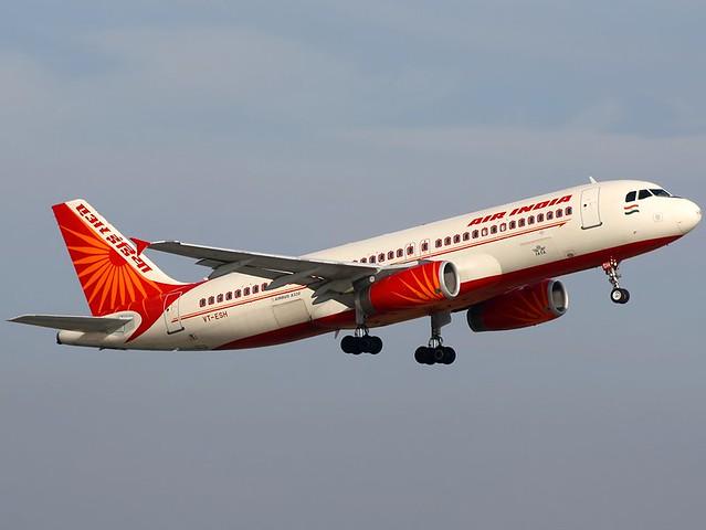 A.320-231 C.n 0469 'VT-ESH' Air India