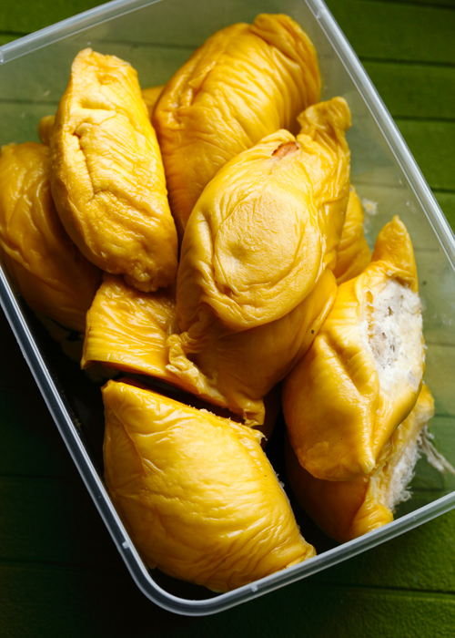 Packed Musang King Durian