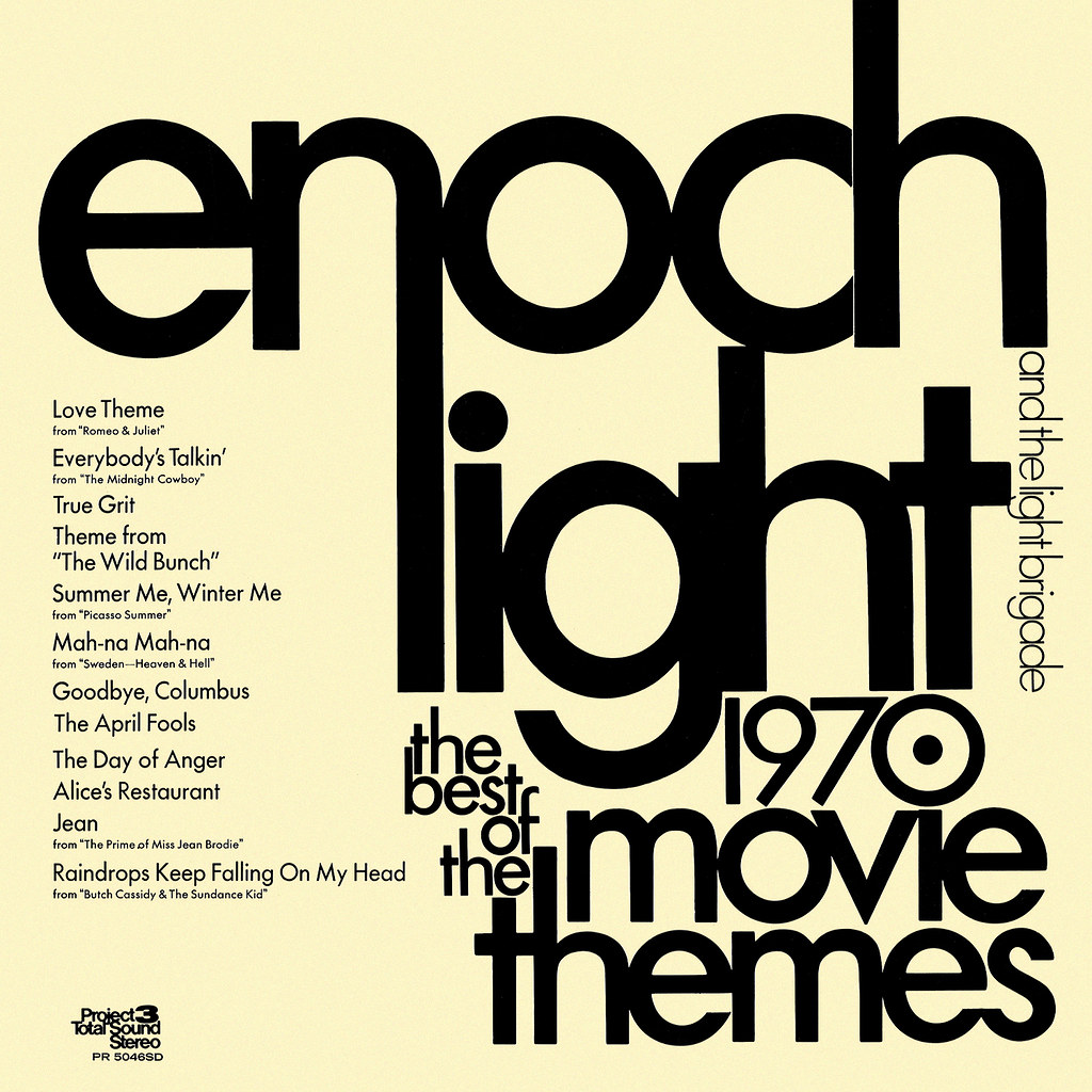 Enoch Light - Best of the 1970 Movie Themes