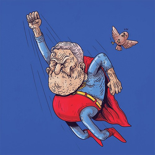 Old Superman #famousoldies
