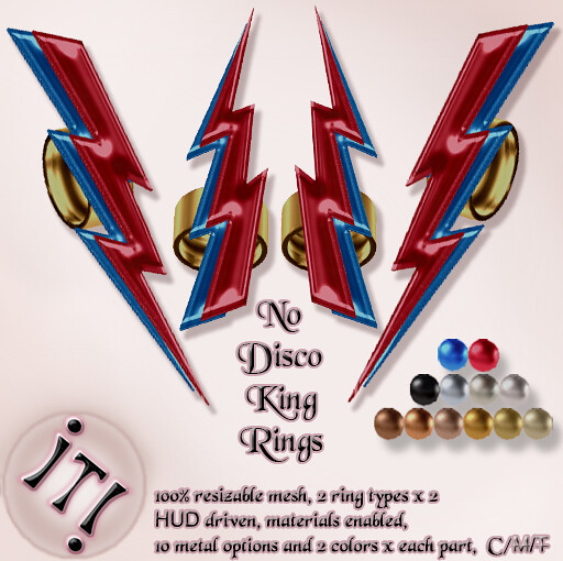 !IT! - No Disco King Rings Image