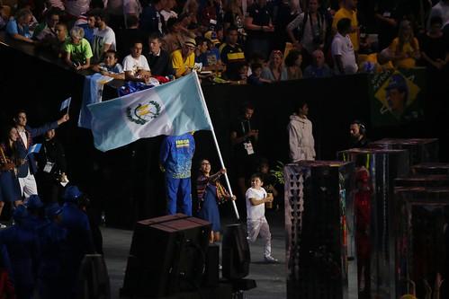 Guatemala presente en la apertura de los JJOO de Rio 2016