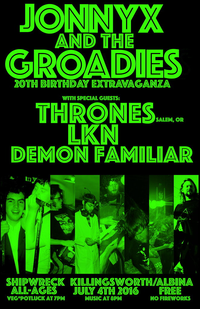 JonnyX and the Groadies 20th Birthday