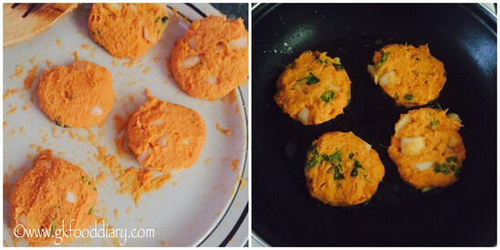 Sweet Potato Cutlet Recipe for Toddlers and Kids - step 3