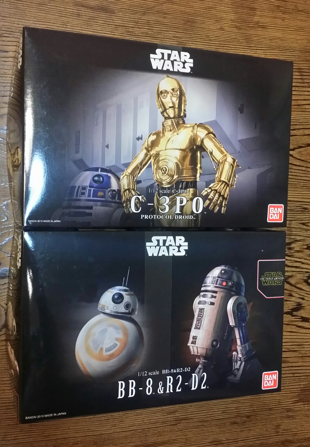 Bandai Star Wars plastic kits