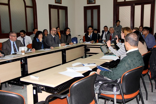 Visita de la GHSA al Perú