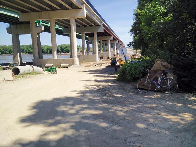 New Daniel Boone Bridge (I-64/US40) Bike/Ped Path