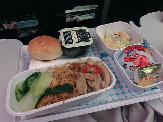 機内食 上海 - 大阪
