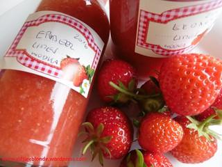 Erdbeer Limes mit  Grappa