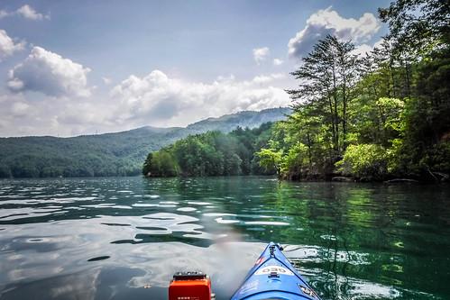Lake Jocassee Kayaking-108