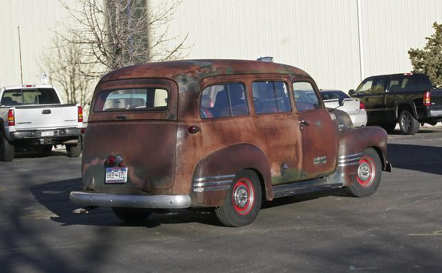 1947 1954 chevrolet gmc suburbans panel trucks flickr photo sharing. Black Bedroom Furniture Sets. Home Design Ideas