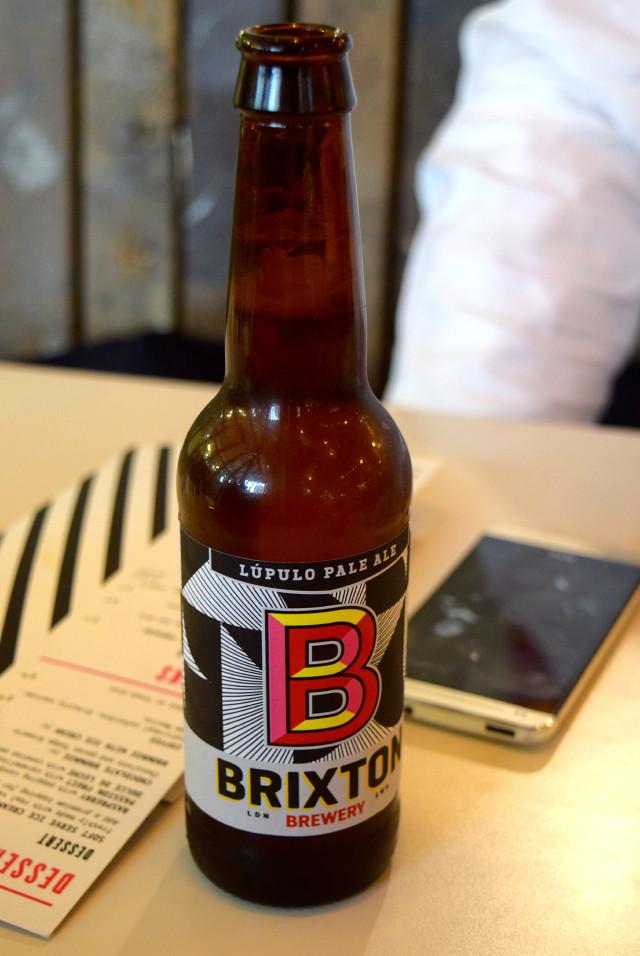 Brixton Brewery IPA at DF/Mexico, Shoreditch | www.rachelphipps.com @rachelphipps
