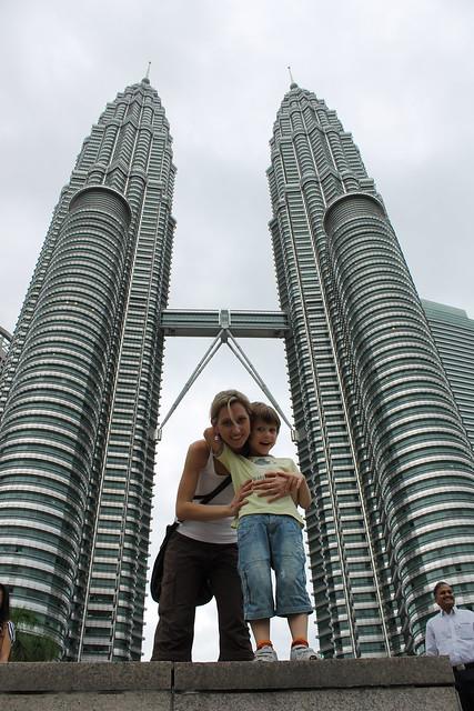 Subir a las Torres Petronas