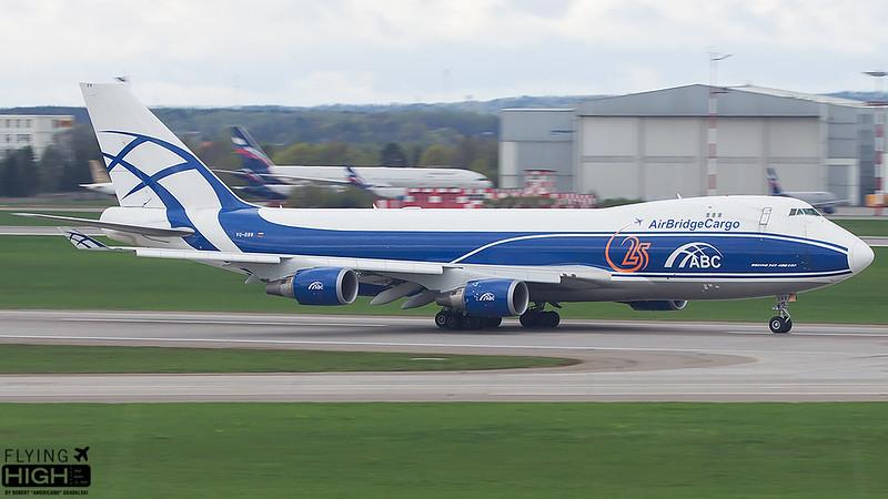 AirBridgeCargo Boeing 747-400ERF
