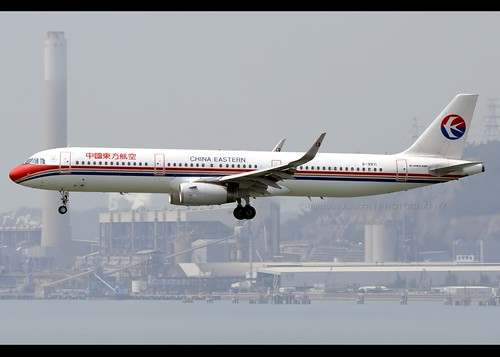 Airbus a321 231 china eastern airlines b 9971 hong - China eastern airlines sydney office ...