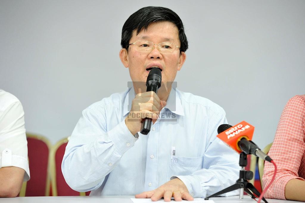 DAP Penang Press Conference With YB Chow Kon Yeow (1 July 2016)