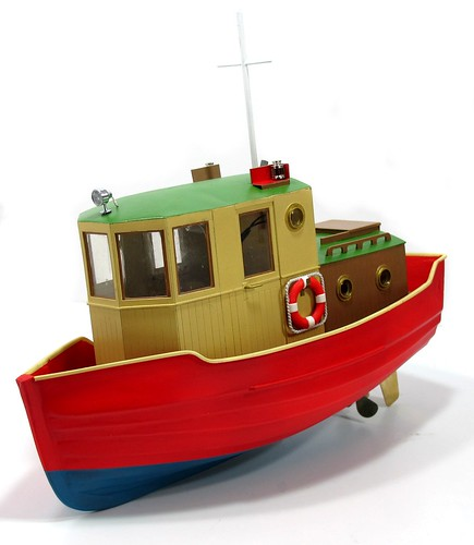 Red boat front
