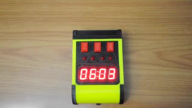 """The """"Zorg Door Bomb"""" Clock"""