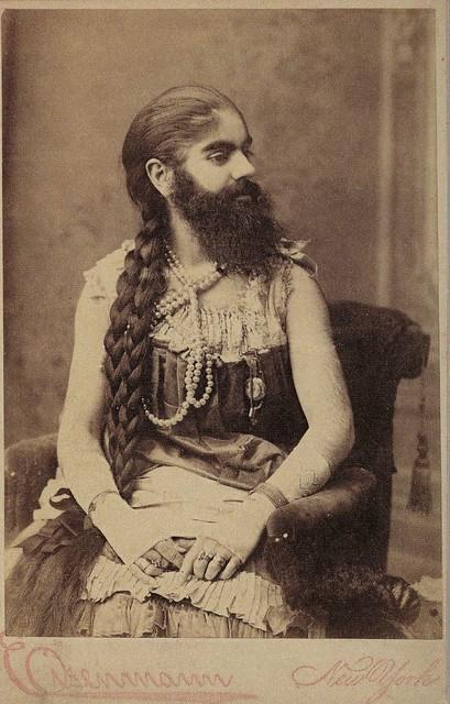 Бородатая женщина Энни Джонс