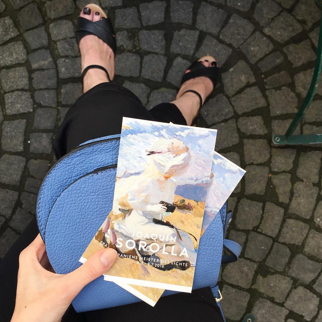 Beautiful exhibition of the Spanish impressionist Joaquín Sorolla // Что-то у нас что ни выходные, то выставка. Такие мы культурные, аж самой страшно
